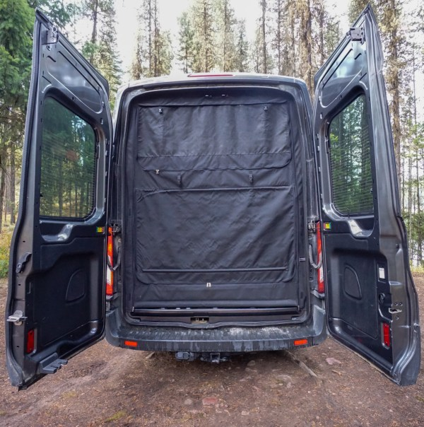 Exterior Shower Campervan Conversion (3)