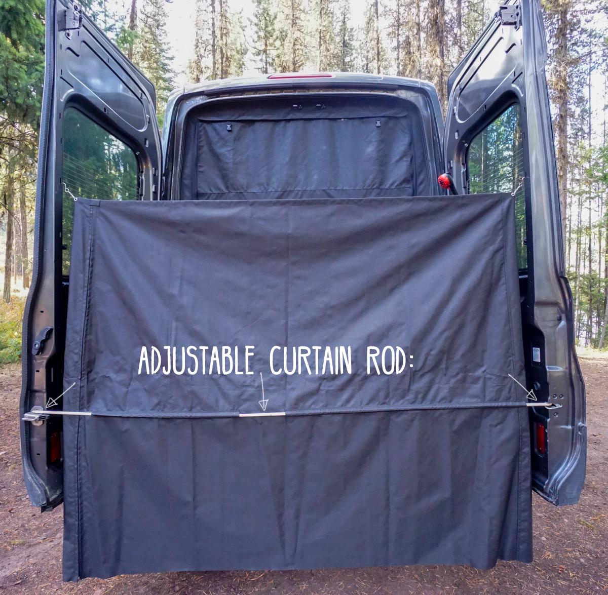 Exterior Shower for Camper Van Conversion | FarOutRide