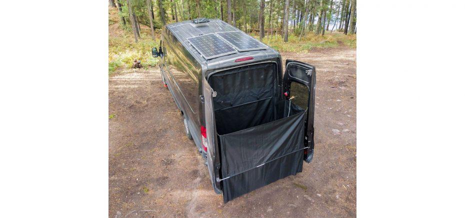 exterior shower for camper van