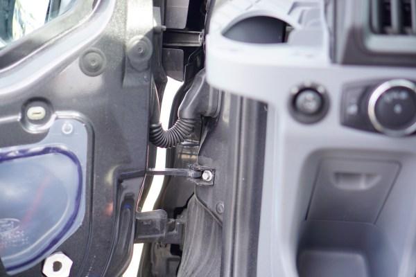Ford Transit Speakers Upgrade-0443