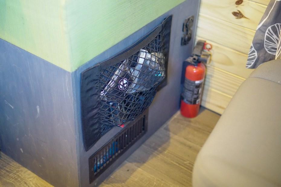 Velcro Storage Net