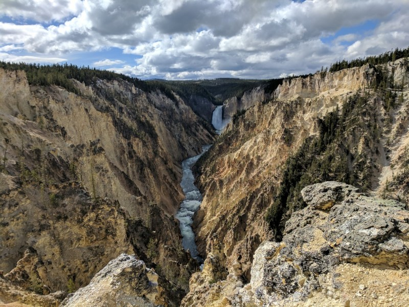 Yellowstone Upper Falls