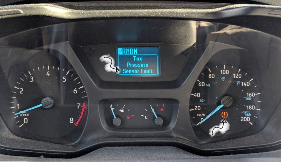 Tire Pressure Sensor Fault >> Ford Tire Pressure Monitoring System Tpms Faroutride