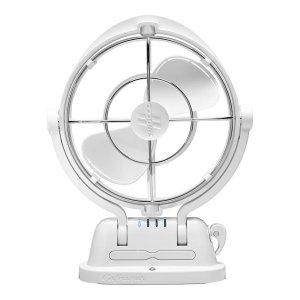 Sirocco 3-axis Gimbal Fan 12V White