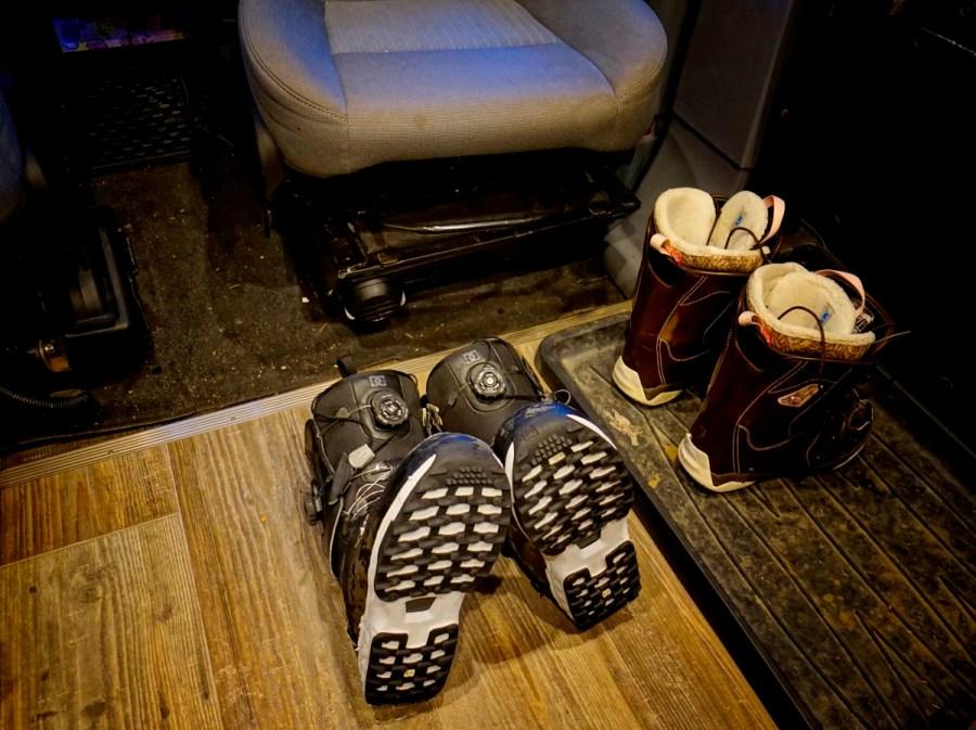 Webasto Drying Boots