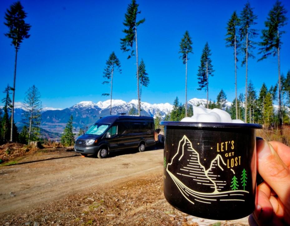 Van Squamish Wild Camping Coffee