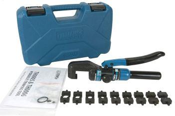 Hydraulic Crimper 5 Ton 00-12 AWG