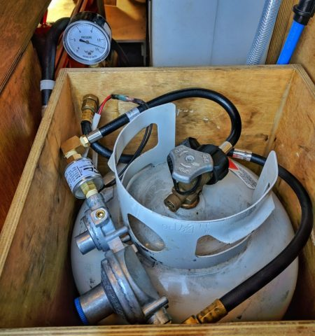 Propane Locker Regulator Solenoid Campervan