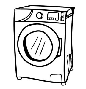 Drying-Machine-Doodle