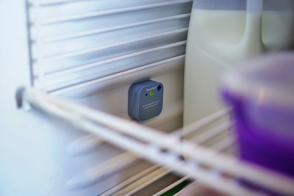 SensorPush Wireless Temperature Humidity Sensor Refrigerator Review