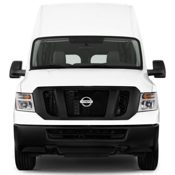 Nissan NV Cargo Van Front View