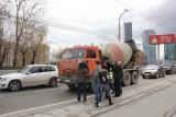 Акция по профилактике ПДД на Макаровском мосту
