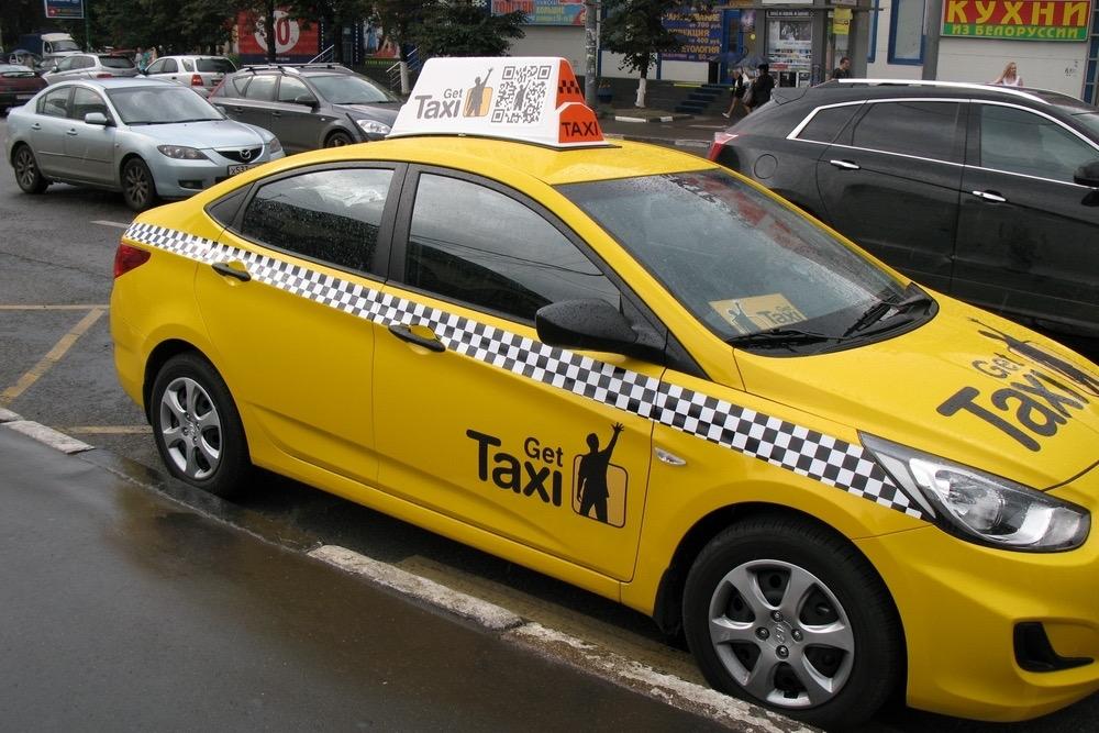 ГИБДД будет аннулировать регистрацию такси с «лайт боксами» (световыми коробами)