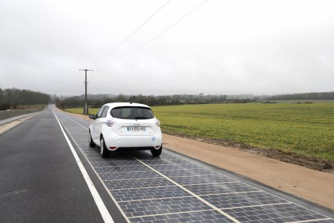 В России могут появиться дороги из солнечных батарей