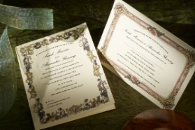 Luxury Wedding Invitation Richmond 300 x 200