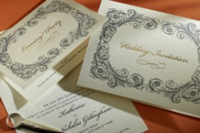 Luxury Wedding Invitations Baroque 300 x 200