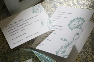 Luxury Wedding Invitations Dianthus 300 x 200