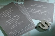 Luxury Wedding Invitations Pimlico 300 x 200