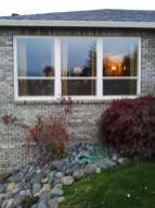 Exterior windows