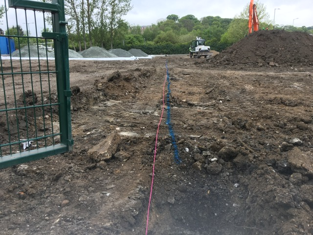 Stanmore Car Park Site Excavation groundworks