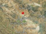 زمین لرزه ۱/ ۴ ریشتری در حبیب آباد اصفهان
