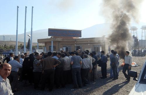 اعتراض کارگران کارخانه کاشیا