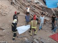 مرگ سه كارگر ساختمانی در حال استراحت شبانه