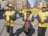 شرکت هواداران مقاومت در تظاهرات روز جهانی کارگر در سوئد