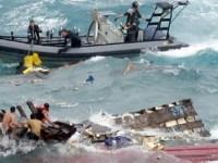غرق شدن قایق پناهجویان ایرانی در سواحل استرالیا