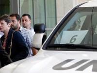 بازرسان سازمان ملل متحد و ترک دمشق