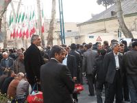 اعتراضات مردمی در چندین شهر ایران