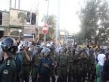 تظاهرات هزاران نفر از مردم قهرمان زنجان