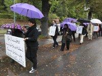 سیزدهمین روز تظاهرات در استکهلم و یوتبوری در پی قتل عام اشرف