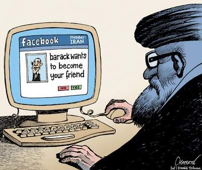 Obama makes friends with Mullas via Facebook