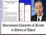 نامه کميته بين المللی حقوقدانان در دفاع از اشرف به مراجع بینالمللی