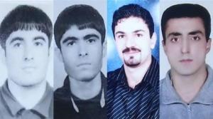 چهار زندانی اهل سنت محکوم به اعدام