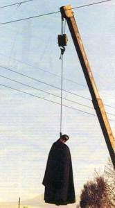 اعدام یک زن