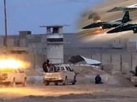 آمریکا و متحدانش حملات هوایی خود در سوریه را آغاز کردند