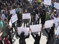 فیلم – تظاهرات در دانشگاه بابل و تجمع در اهواز بر علیه اسید پاشی ها