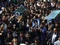 جسد پنج تن از پاسدارن به هلاکت رسیده در سوریه، در شهر مشهد به خاک شد