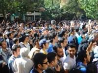 حمله نیروهای سرکوبگر به تظاهرات اعتراضی به اسیدپاشی در تهران و اصفهان