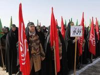 مانور گردانهای سرکوبگر بسیج در تهران