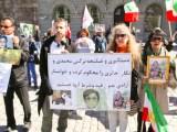 گزارش تصویری از آکسیون حمایت از نرگس محمدی و نگار حائری در استکهلم