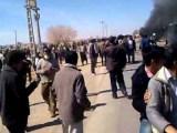 تظاهرات کشاورزان، مسئول بی لیاقت ، خجالت ، خجالت  + فیلم