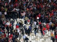 چندین نفر در تشنج ورزشگاه تبریز زخمی شدند