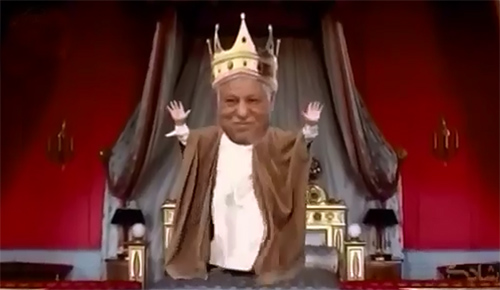 فیلم - ترانه طنز سیاسی شاد و زیبای «تاج سلطنت رویای اکبر کوسه»