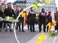 حمایت از جنبش دادخواهی  قتلعام  67 در استکهلم