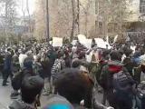 فیلم: گزارشی از اعتراضات دانشجویی در روز دانشجو