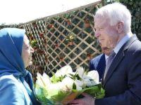 واکنش ذلیلانه رژیم ایران به دیدار سناتور مککین با مریم رجوی