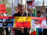 تظاهرات مقابل سفارت رژیم در استکهلم / رآی ما سرنگونی است!